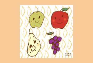 グリーティングカード画像秋のカード4