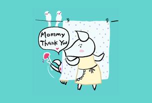 グリーティングカード画像母の日2