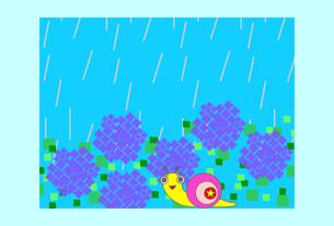 グリーティングカード画像雨だけど・・・1