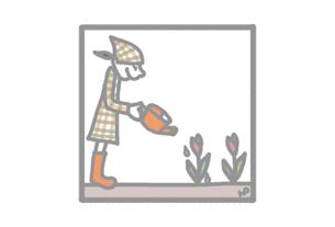 グリーティングカード画像春のカード1