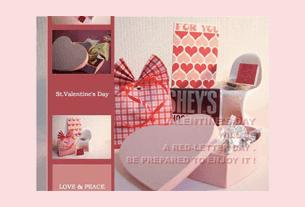 グリーティングカード画像バレンタイン5