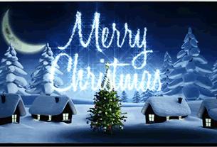 グリーティングカード画像クリスマス1